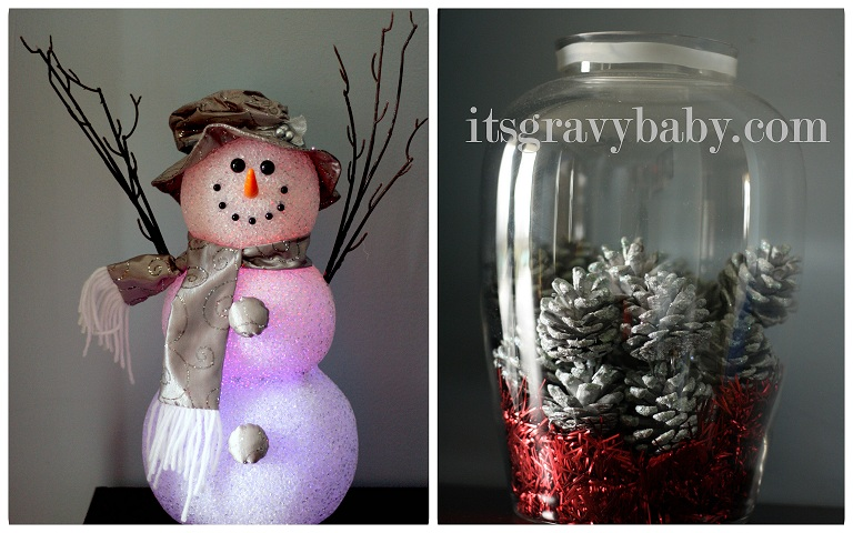 Holiday Decorating on a Budget with Kmart - It's Gravy, Baby!