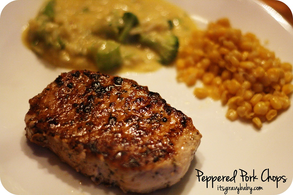 Peppered Pork Chops Recipe - #Publix4Pork @allaboutpork - It's Gravy ...