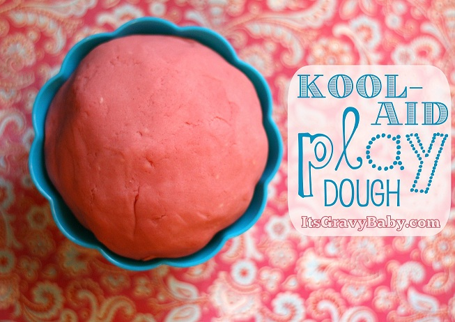 Scented Kool-Aid Play Dough