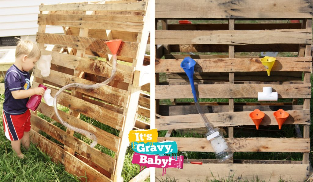 Do it yourself homemade water wall money saving mom for Diy water wall