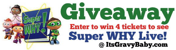 Super WHY Live Giveaway