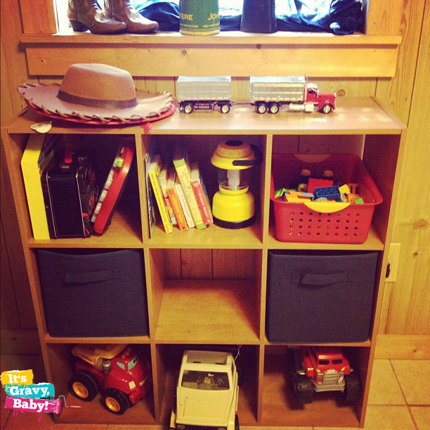 Bryson's Room Toy Organization