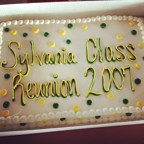 Class Reunion Cake