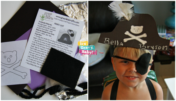 Green Kid Crafts Pirate Kit