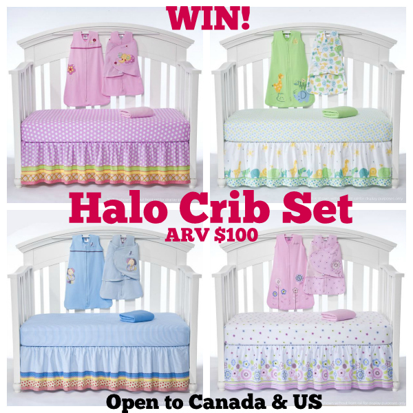 Halo Crib Set Giveaway