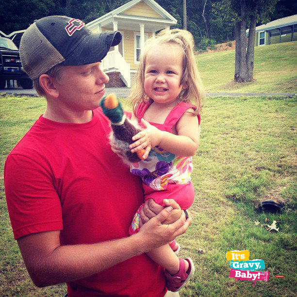 Hubby and Bella Grace