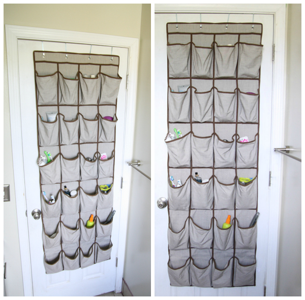 Over the Door Shoe Holder for Bathroom Storage