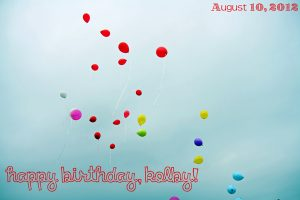 Birthday Balloon Release for Kolby Clayton