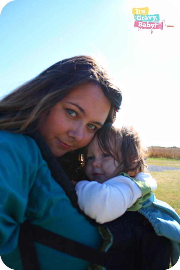 Ergobaby Carrier, Pumpkin Patch, Baby Wearing