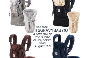 Ergobaby Bundle of Joy Carrier Giveaway
