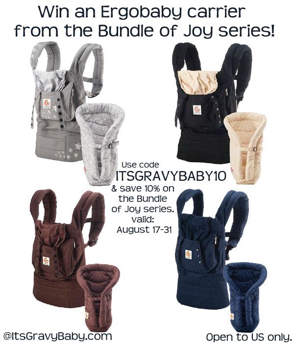 Ergobaby Bundle of Joy Carrier Giveaway