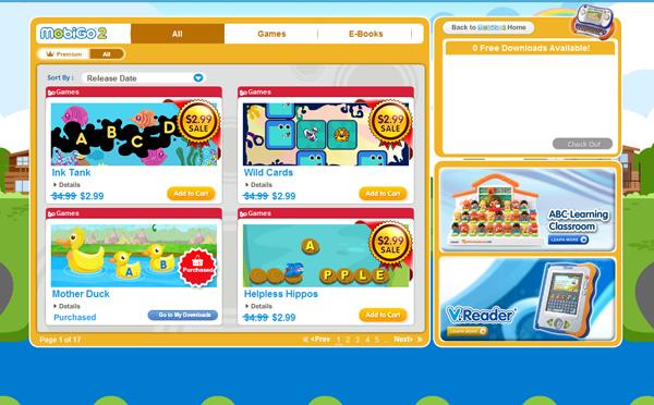 MobiGo 2 Games Learning Lodge Navigator