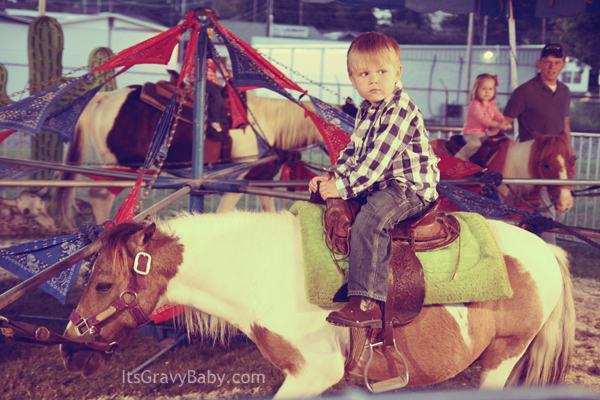 Bryson on Horse Fall Fair 2012