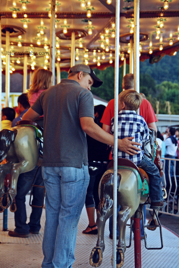 County Fall Fair 2012 Carousel
