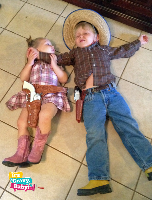 Cowboy Bryson and Cowgirl Bella