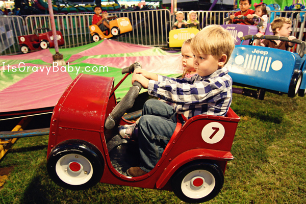 Fall Fair 2012 Jeep Ride. They were adorable on this ride too.