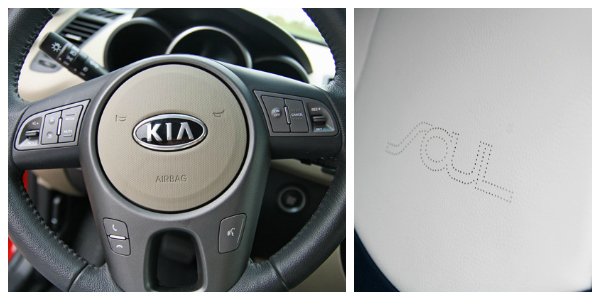 Kia SOUL Steering Wheel, Seat