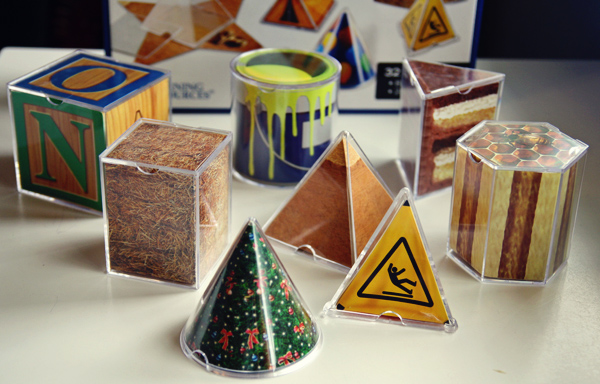 Learning Resources Real World Folding 3D Geometric Shapes