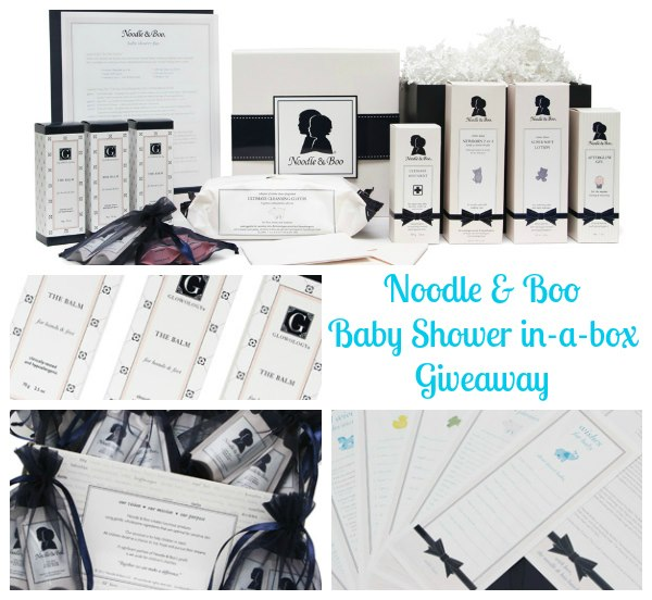 Noodle & Boo Baby Shower-in-a-Box