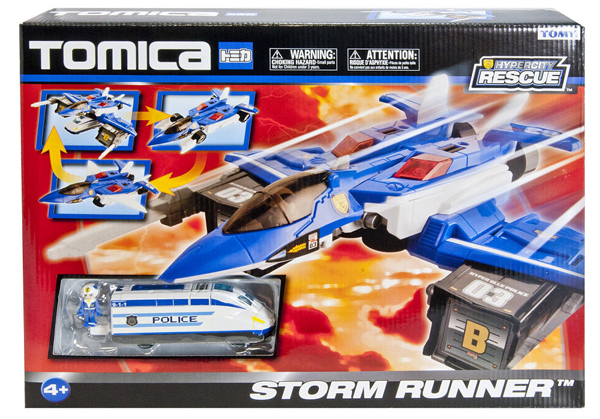 TOMY 3-in-1 Rescue Storm Runner Jet