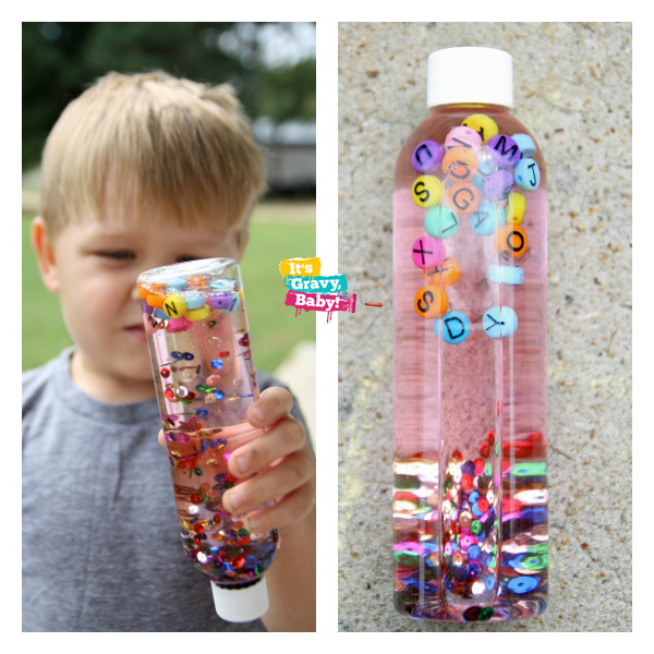 Wonder Box I Spy Bottle Craft Education Activity