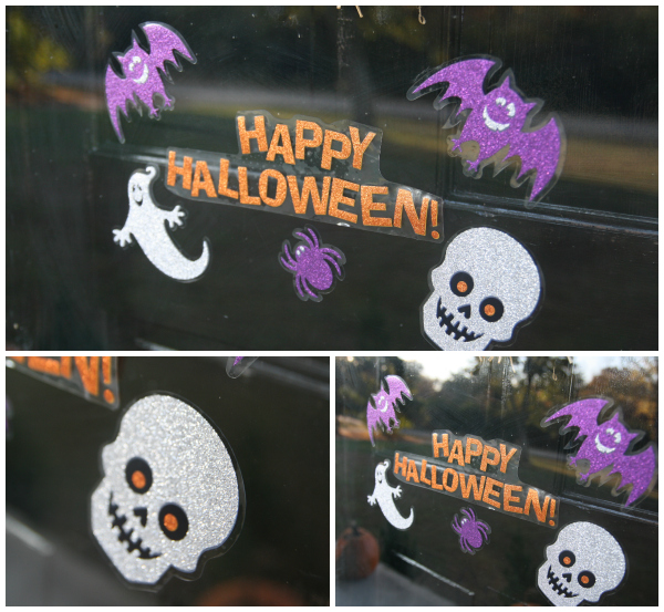 Halloween window stickers kmart