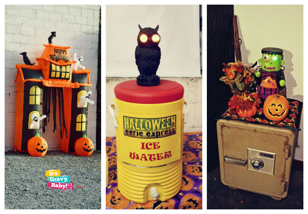Tennessee Valley Railroad Museum Eerie Express Halloween Fun House Decor