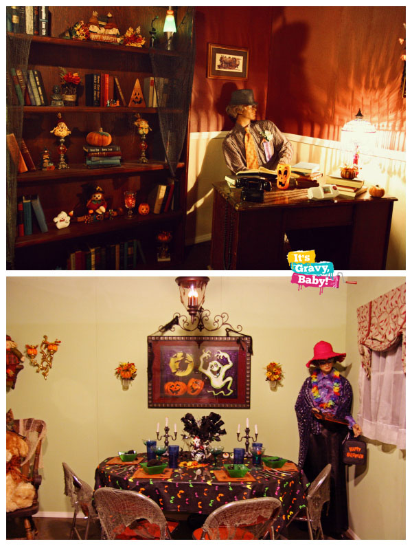 Tennessee Valley Railroad Museum Halloween Fun House for Families