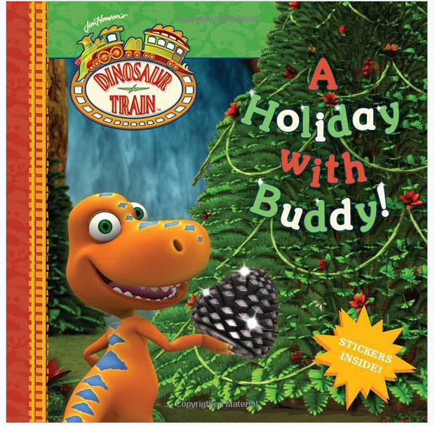 A Holiday with Buddy Dinosaur Train Book