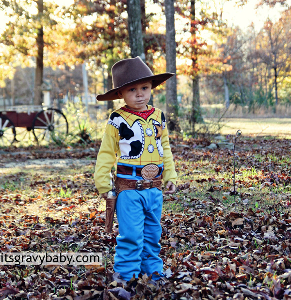 Bryson as Woody from Toy Story Halloween 2012
