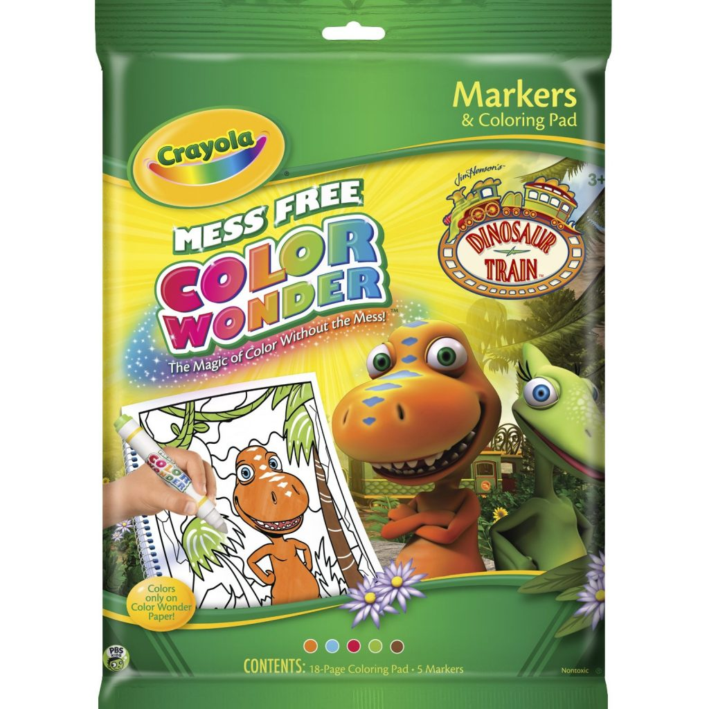 Dinosaur Train Color Wonder Set