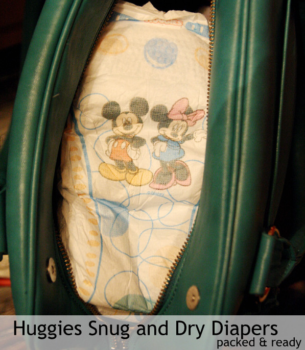 Huggies Snug and Dry Diapers on the go