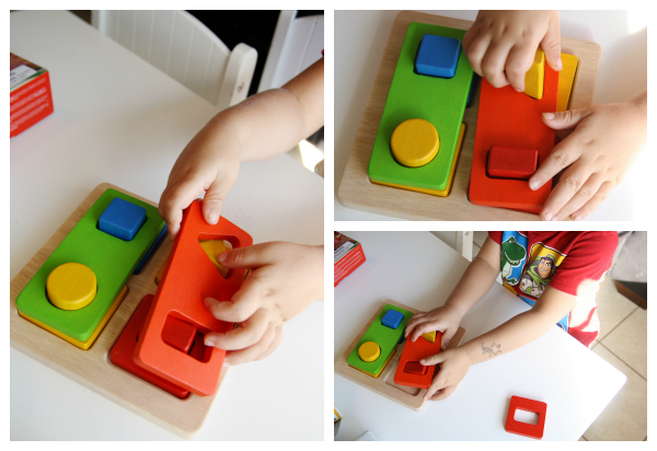 Little Pnuts for Preschoolers, Plan Toys Shape Sorter