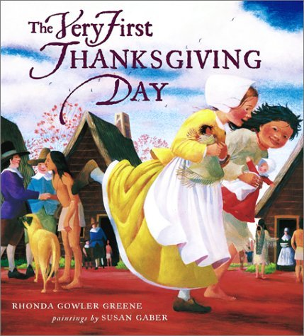 Thanksgiving Book - The Very First Thanksgiving Day