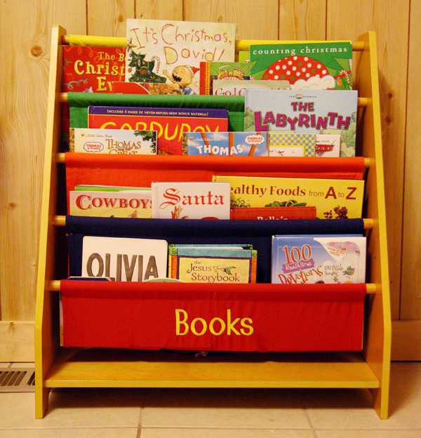 Personalized Canvas Bookcase from Personal Creations