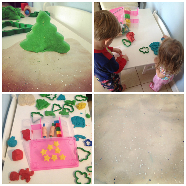 Christmas Play Dough Recipe Ideas