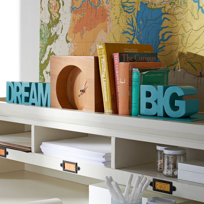 Dream Big Bookends - Pottery Barn