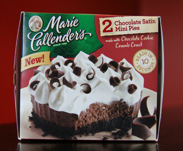 Marie Callender's Chocolate Satin Mini Pies