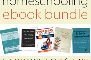 homeschooling ebook bundle