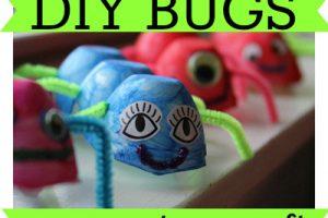 DIY Bugs Egg Carton Craft