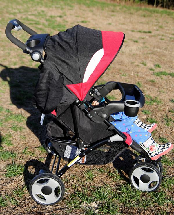 Eddie Bauer Trail Hiker 3 Wheel Stroller