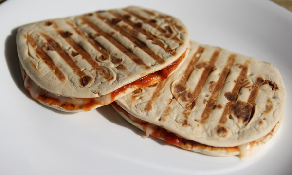 Pizza Panini Flatout Hungry Girl Foldit Flatbread