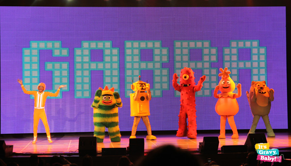 Yo Gabba Gabba! Live! Characters