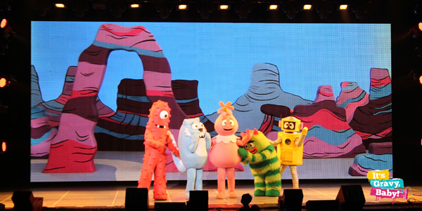 Yo Gabba Gabba! Live! Get the Sillies Out! Characters