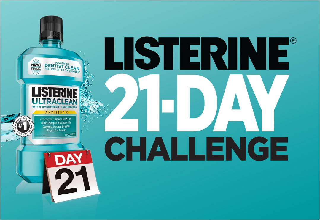 Listerine 21 Day Challenge