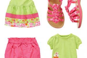 Gymboree Tea Time Afternoon Line for Baby Girls