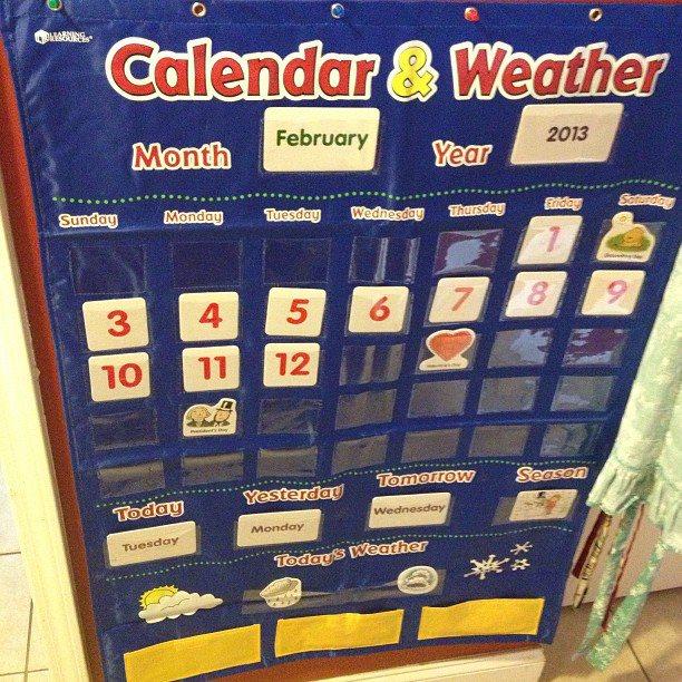 Kindergarten Calendar Chart : Our current preschool resources homeschool it s gravy