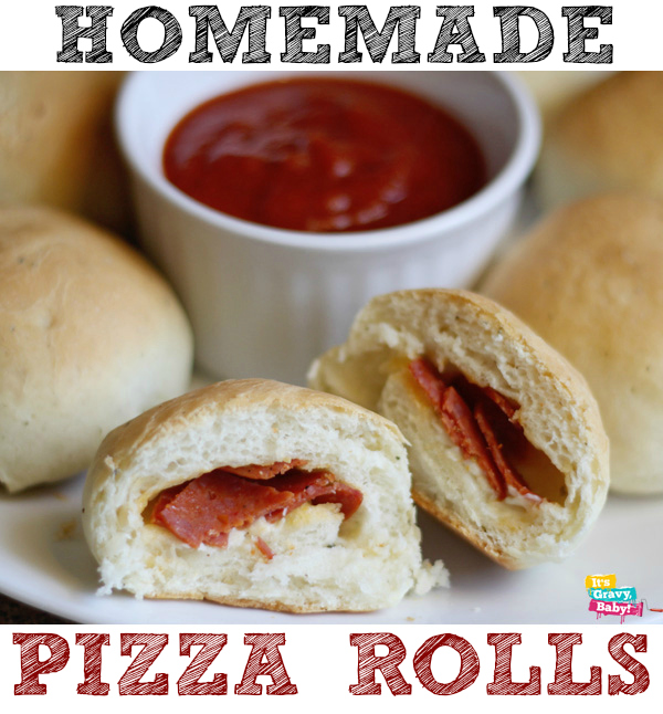 Homemade Pizza Rolls Recipe — Dishmaps