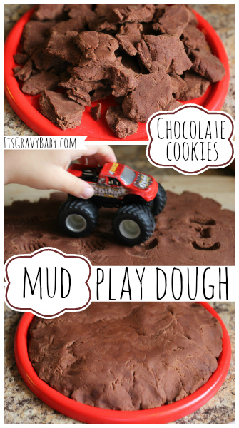 Play Dough Chocolate Mud