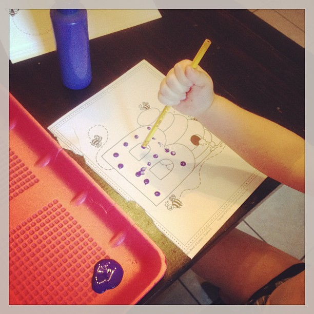 All About Reading Pre-reading Letter Craft